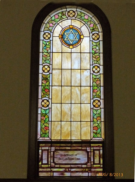 One of the Stained Glass Windows